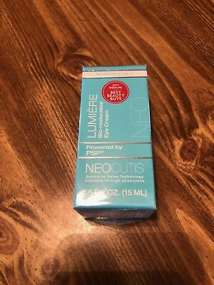 New Neocutis Lumiere Bio-Restorative Eye Cream with PSP, Anti-aging 0.5 oz
