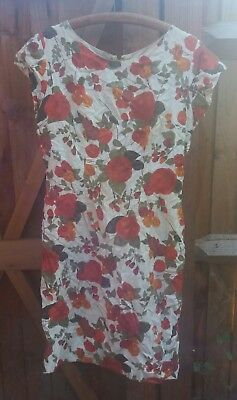 1950's original genuine hand made VINTAGE sheath dress