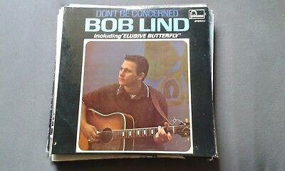 Bob Lind - Dont be concerned , Vinyl LP 1966, Original , VG/VG, Fontana