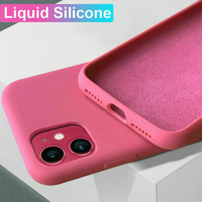 Luxury Silicone Gel Candy Color Soft Back Case Cover For iPhone XS X 8 7 6s Plus