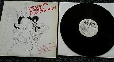 HELLMAN's ANGELS PLAY COUNTRY - LP USA 1979. Pedalharfe Steel Guitar. Daphne H.