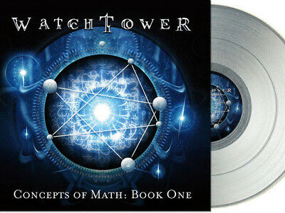 WatchTower Concepts Of Math LP silver vinyl Prosthetic Spastic Inc Watch Tower