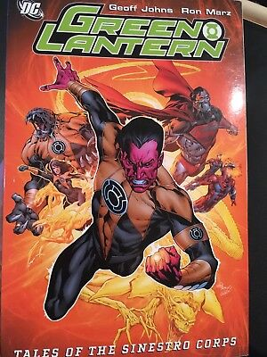 Green Lantern Tales Of The Sinestro Corps DC Comics Paperback TPB graphic novel