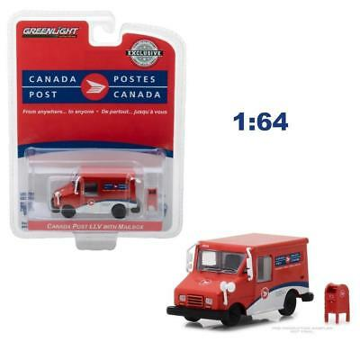 Greenlight 29889 Canada Post Llv Long Life Delivery Vehicle Diecast Car 1:64