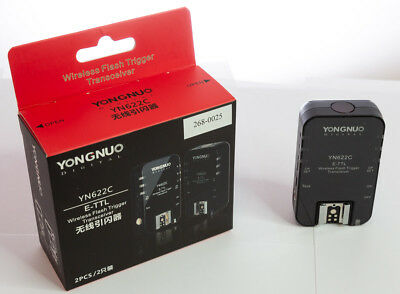 █ Yongnuo YN622C - 1 E-TTL HSS Wireless Flash Trigger (Transceiver) | TOP OVP █