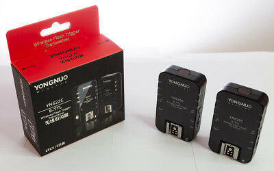 █ Yongnuo YN622C - 2 E-TTL HSS Wireless Flash Trigger (Transceiver) | TOP OVP █