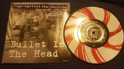 Rage against the machine Bullet In The Head Limited Coloured Vinyl Single