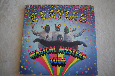 Beatles Magical Mystery Tour 2x EP mit Booklet Odeon SMO 39501/2 Germany 1967