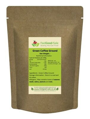 1kg Green Ground Coffee Santos 100% Natural (Kawa Zielona)
