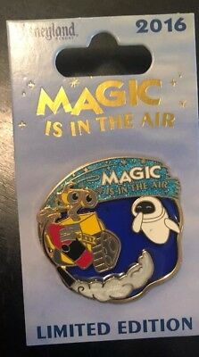 Disneyland Park Magic in the Air WALL-E and EVE Disney LE Pin Flaw On Eve