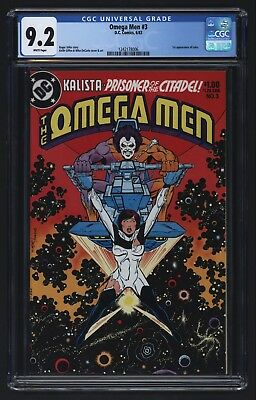 Omega Men #3 1st Appearance of Lobo CGC 9.2 1983 Keith Giffin - DC Comics