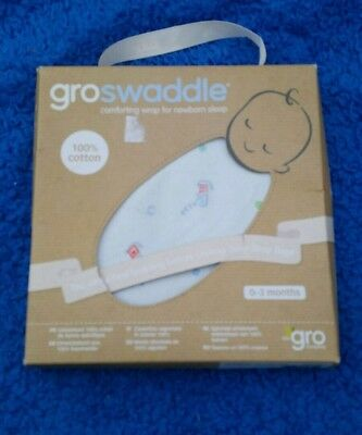BNWT Gro Swaddle Gro bag 0-3 Months Newborn Dogs