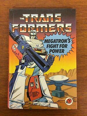 Vintage Ladybird Books - Transformers - Megatrons Fight For Power - 1985