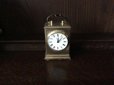 Vintage mechanical Astral Mantel Clock - Brass Cased