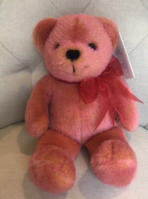 "Avon 13""Plush ANNIVRSY OF THE TEDDY BEAR NWT Talks 2002 Stuffed Animal Cllctbl"