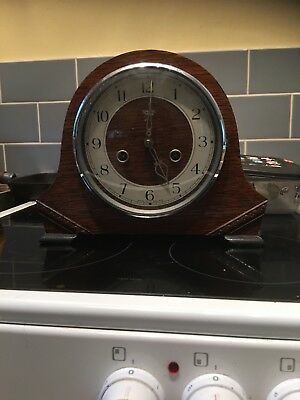 Smiths Enfield Striking Mantle Clock - Post 1949