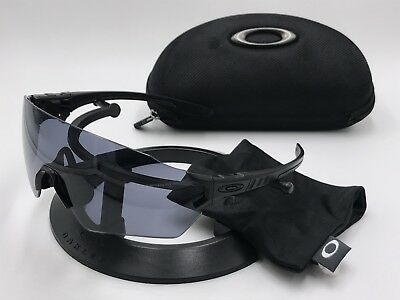 c87b9d85da OAKLEY OO9328-04 SI Tombstone Spoil Industrial Black Gray lens 100%  AUTHENTIC
