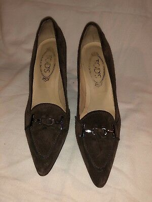 tods ladies shoes 38