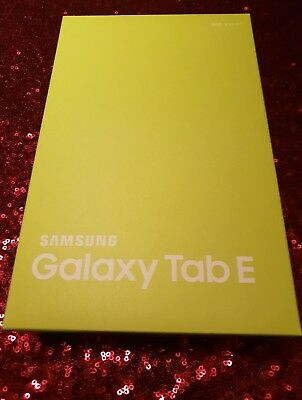 Samsung Galaxy Tab E SM-T560 8GB, WLAN, 24,4 cm (9,6 Zoll) - Metallic Black NEU