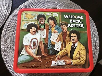 Welcome Back Kotter Lunch Box Near Mint RARE