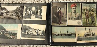 1900s East Asia postcard album - china, Hong Kong, Japan, Philippines, Hawaii
