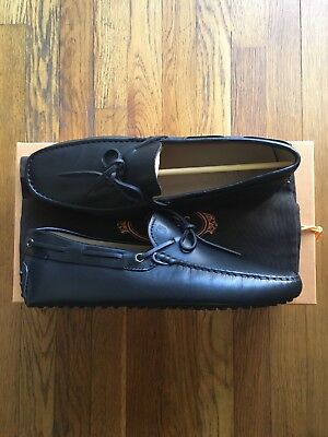 555d880b6df NEW TOD S MENS Shoes Loafers Drivers Size 10.5 Brown Mocassino 2 ...