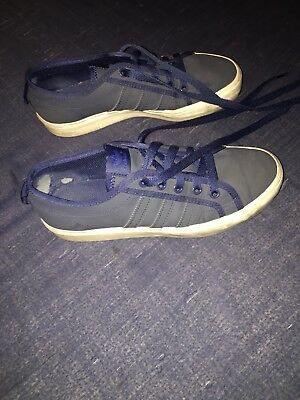 ADIDAS ORIGINALS NIZZA Lo unisex children trainers size: 4