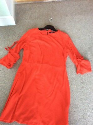 lovely red Dress size 10 brand new with tags