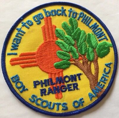 1980's Philmont Ranger Backpatch Or Jacket patch