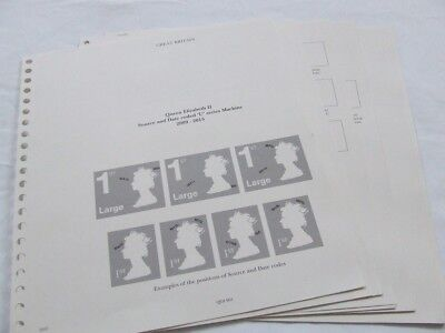 Stanley Gibbons Great Britain Windsor Sovereign Illustrated Stamp Album Leaves