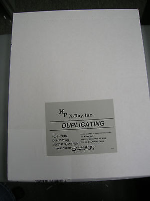 Kodak 11x14 White box X-ray Duplicating Film - 100shts
