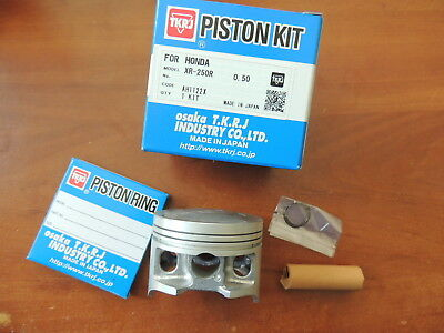 Honda XR250R Piston kit New Complete XR250 R  73.50mm  Kolben Made in Japan TKR