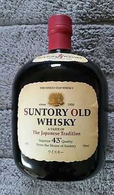SUNTORY OLD WHISKY -Japanese Whisky- A TASTE OF JAPANESE TRADITION-43%-Rarität!!
