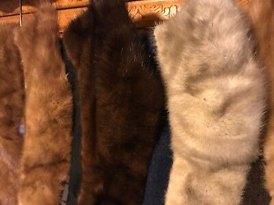 Lot Of Mink Collars
