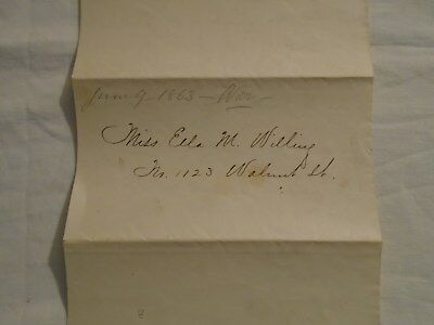 CIVIL WAR LETTER A UNION ARMY OFFICER  DATED YORKTOWN VA JUNE 9th 1863.
