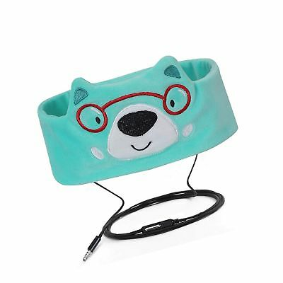 FYY Wired Kids Headphones Ultra Thin Speakers Easy Adjustable Soft Fleece Hea...