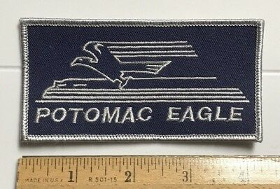 Potomac Eagle Scenic Railroad Romney West Virginia WV Train Souvenir Patch