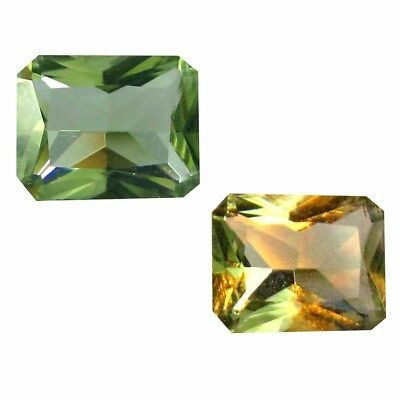 0.47 ct Splendid Octagon Shape (7 x 5 mm) Un-Heated Color Change Diaspore