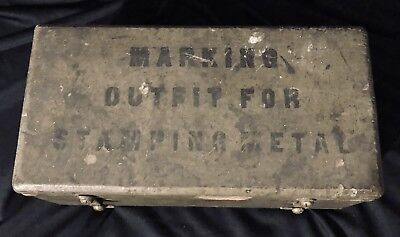 Original WWI Metal Marking Kit Complete