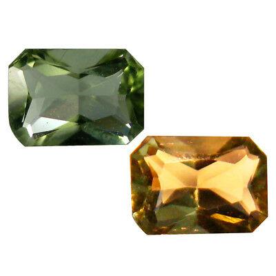 0.26 ct Incomparable Octagon Shape (5 x 4 mm) Un-Heated Color Change Diaspore