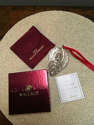 Wallace Sterling Silver Ornament - GB Angel Third Edition 2003
