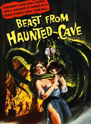 Beast From  Haunted Cave Super 8mm Film