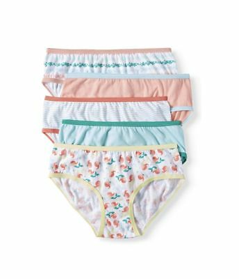 Wonder Nation Girls Hipster Panties Tag-free Underwear 5 pair New
