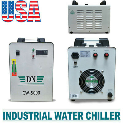 Industrial Water Chiller cool single 80W 100W CO2 Laser Tube CW-5000 110V 60HZ