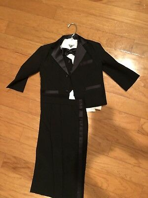 Boys Size 2 Tuxedo - Worn Once For A Wedding