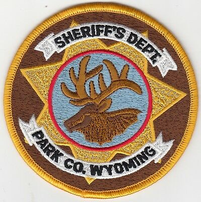 Park County Sheriff's Department Wyoming Wy Police Patch