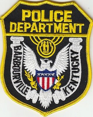 Barbourville Kentucky Ky Police Shoulder Patch