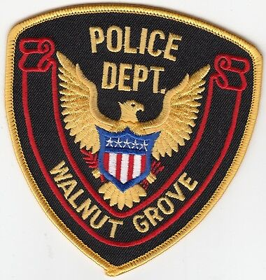 Walnut Grove Police Department Patch Mississippi Ms