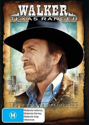 Walker Texas Ranger Season 1 DVD Region 4 NEW