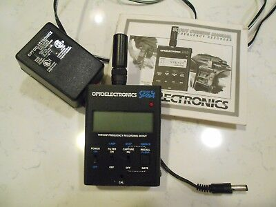 optoelectronics 40 frequency recorder
